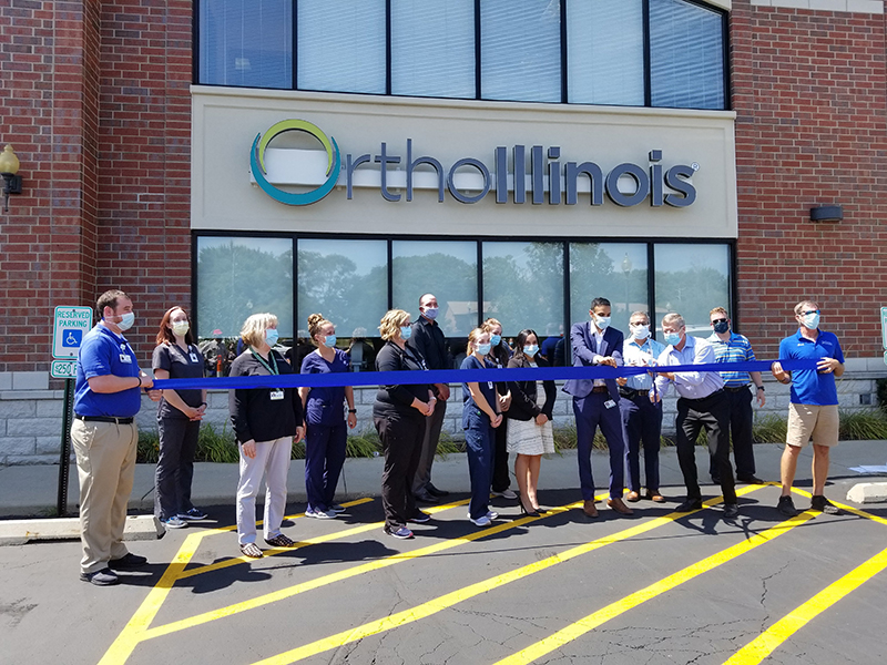 OrthoIllinois McHenry Ribbon Cutting